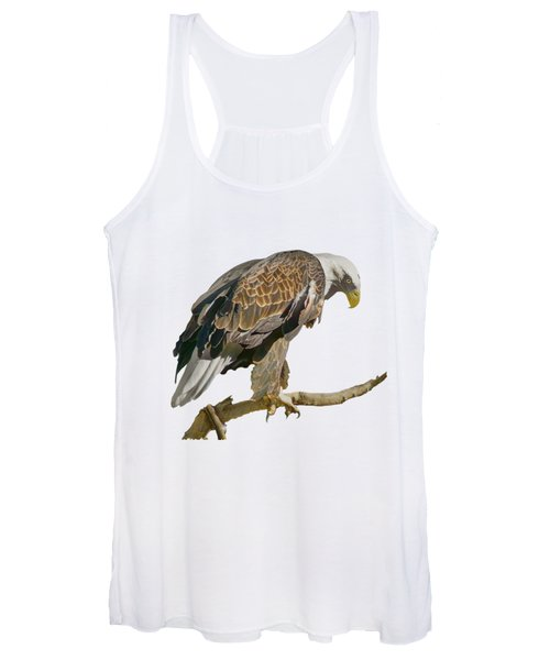Bald Eagle - Transparent Women's Tank Top
