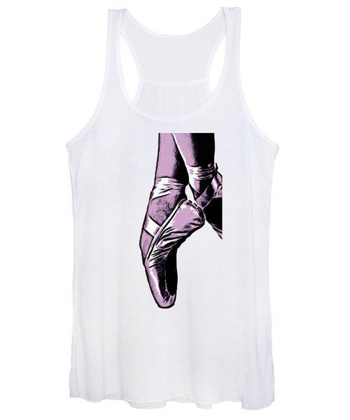Ballet Shoes Phone Case Women's Tank Top
