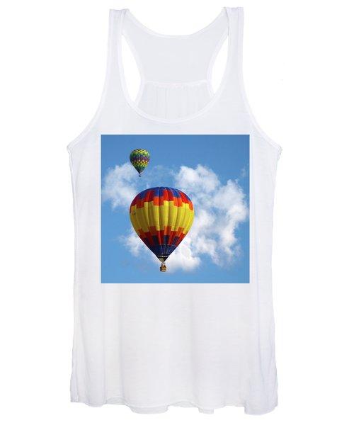 Balloons In The Cloud Women's Tank Top