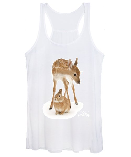 Bambi And Thumper Women's Tank Top