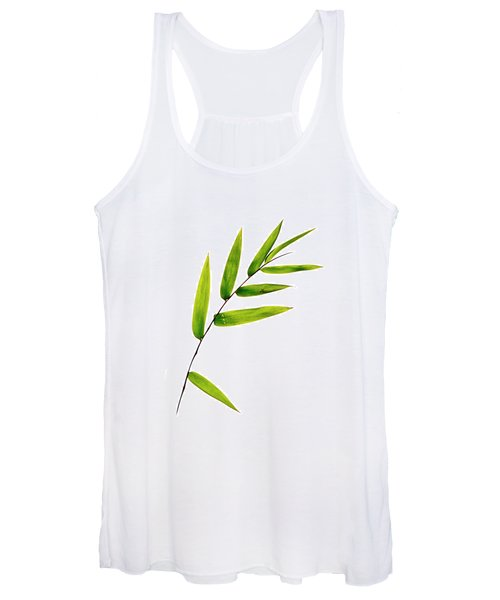 Bamboo Leaves Women's Tank Top