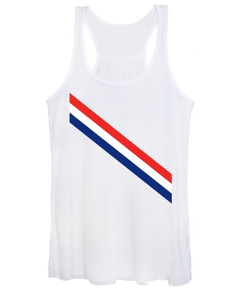 Barber Stripes Women's Tank Top