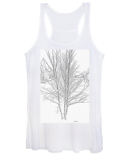 Bare Naked Tree Women's Tank Top