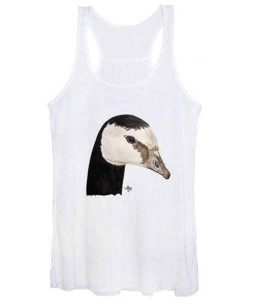 Barnacle Goose Portrait Women's Tank Top