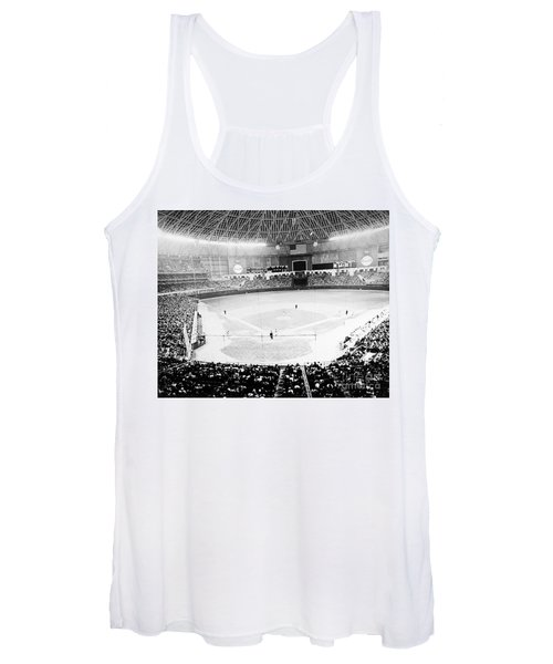 Baseball: Astrodome, 1965 Women's Tank Top