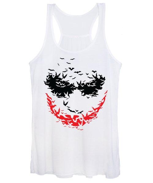 Bat Face Women's Tank Top