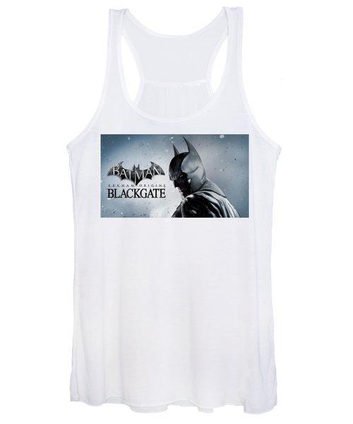 Batman Arkham Origins Blackgate Women's Tank Top