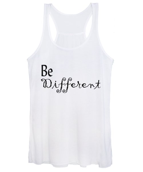 Be Different Women's Tank Top