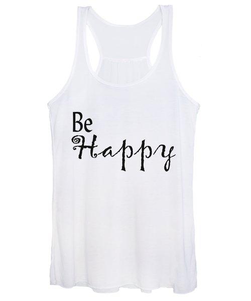 Be Happy Women's Tank Top