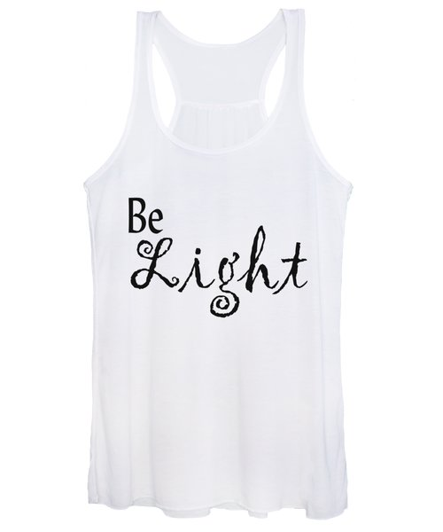 Be Light Women's Tank Top