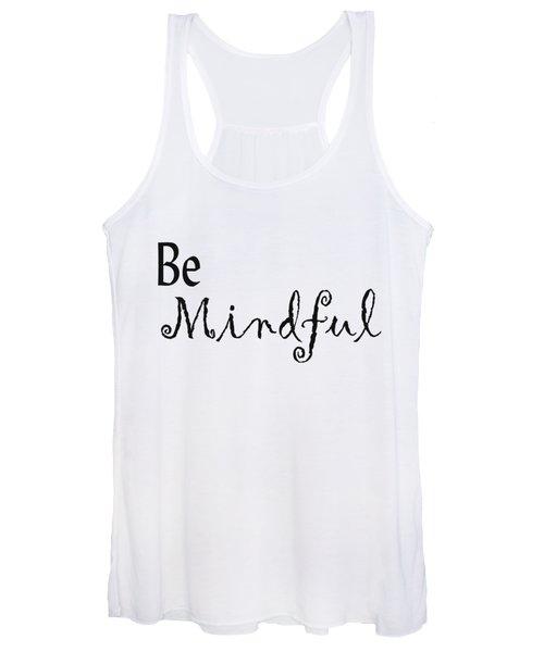 Be Mindful Women's Tank Top
