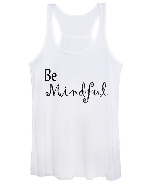 Be Mindful Women's Tank Top