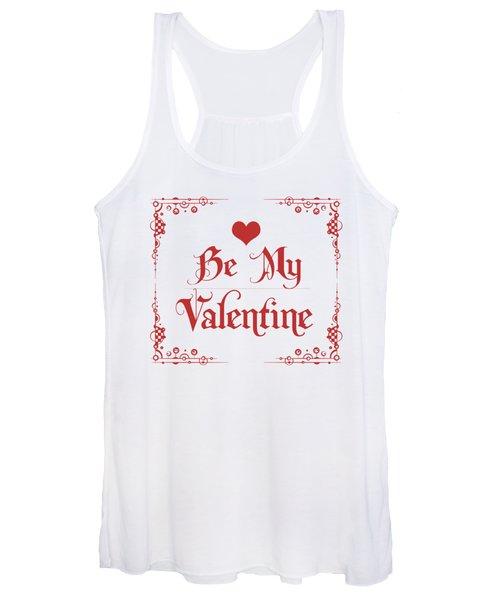 Be My Valentine Women's Tank Top