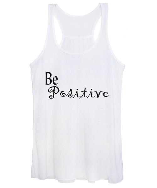 Be Positive Women's Tank Top