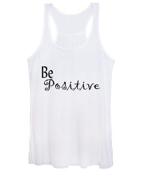 Be Positive Women's Tank Top