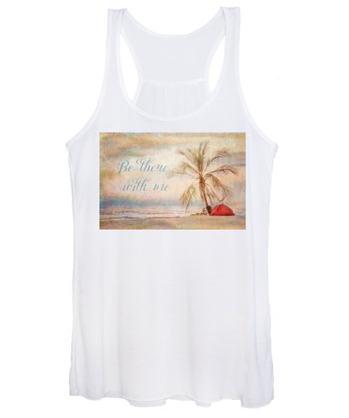 Be There With Me Women's Tank Top