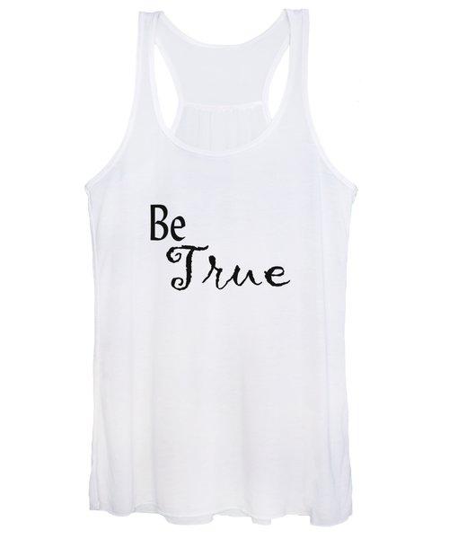 Be True Women's Tank Top