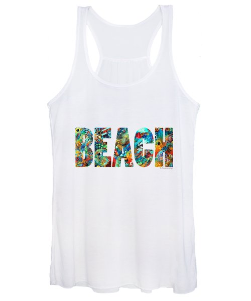 Beach Art - Beachy Keen - By Sharon Cummings Women's Tank Top