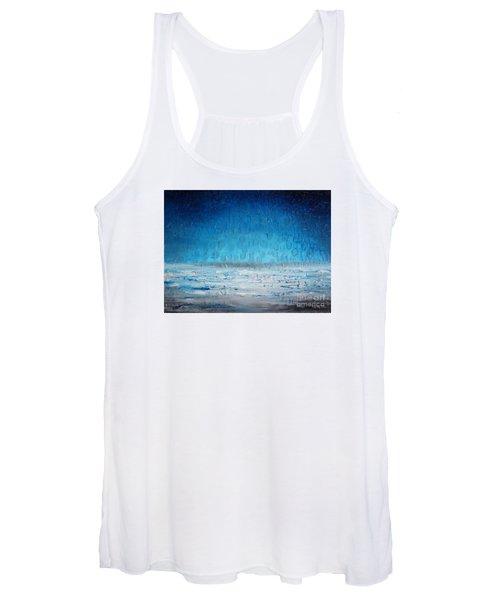 Beach Blue Women's Tank Top