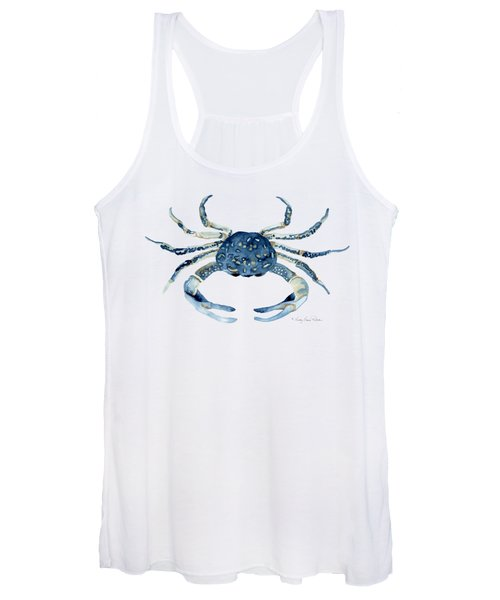 Beach House Sea Life Blue Crab Women's Tank Top