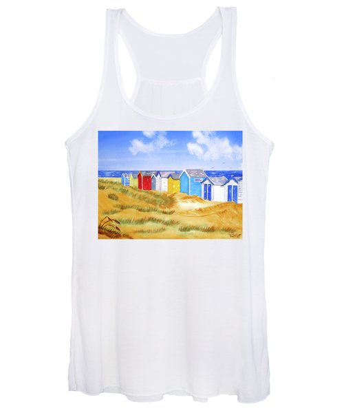 Beach Huts Women's Tank Top