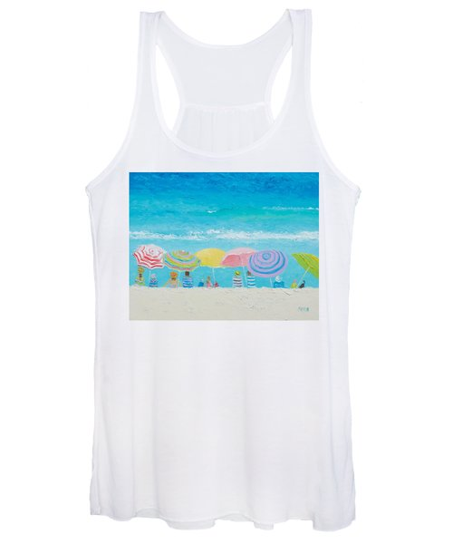 Beach Painting - Color Of Summer Women's Tank Top