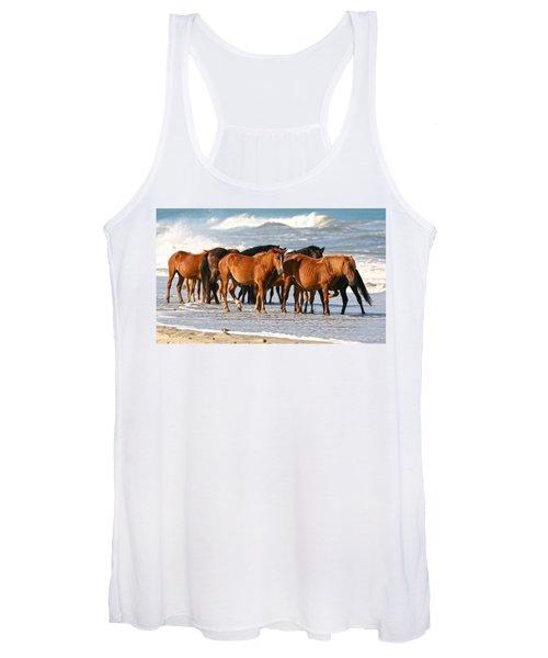 Beach Ponies Women's Tank Top