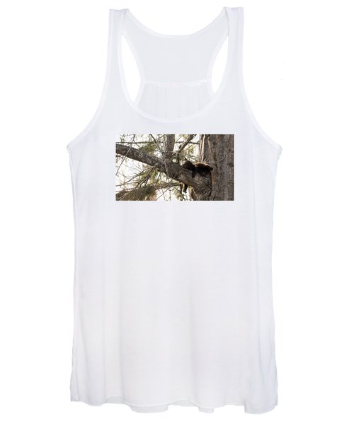Bearly Hanging In There Women's Tank Top