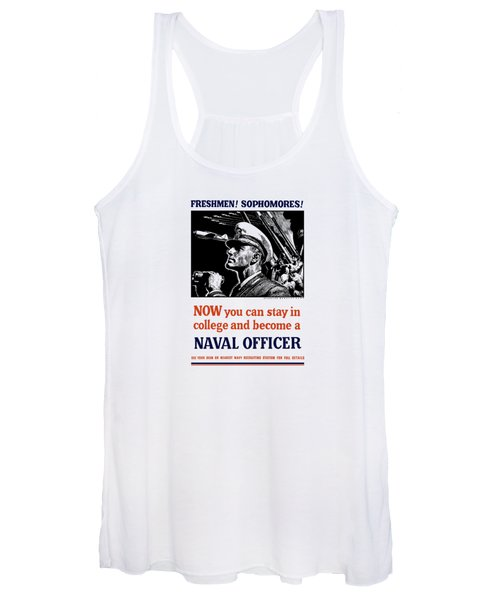 Become A Naval Officer Women's Tank Top