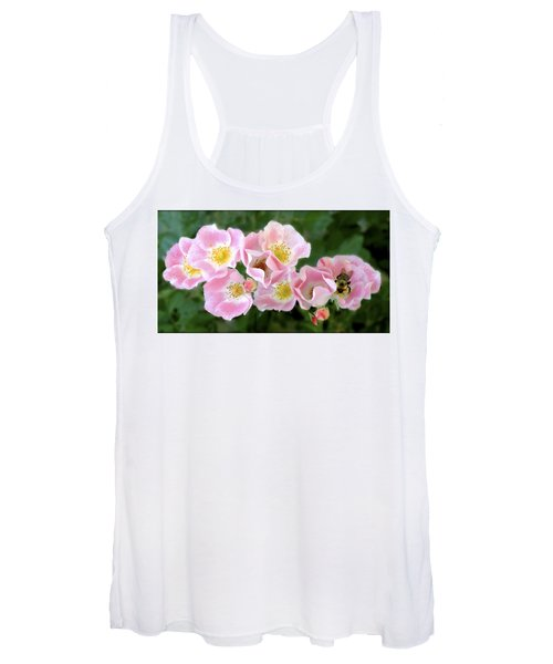 Bee And Roses Women's Tank Top