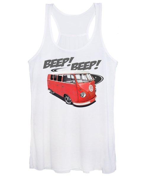 Beep Beep Bus Women's Tank Top