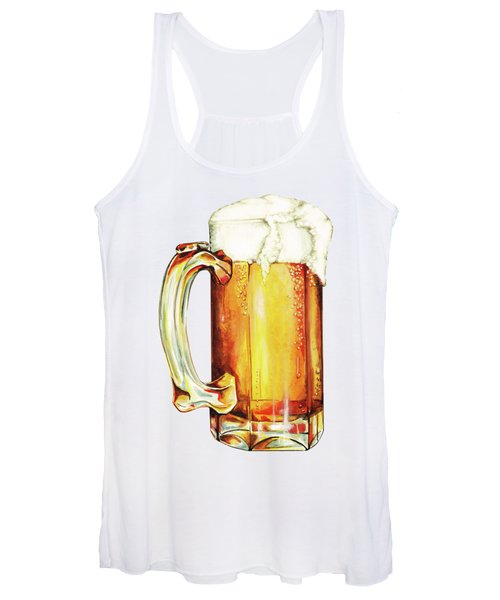 Beer Pattern Women's Tank Top