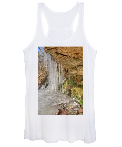 Behind The Ice Women's Tank Top
