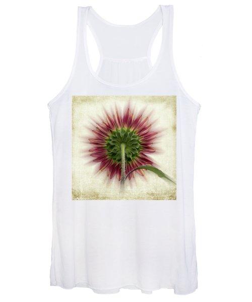 Behind The Sunflower Women's Tank Top