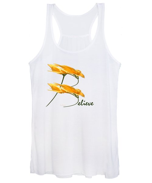 Believe Shirt Women's Tank Top