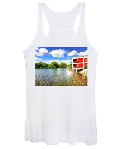 Belize River House Reflection Women's Tank Top