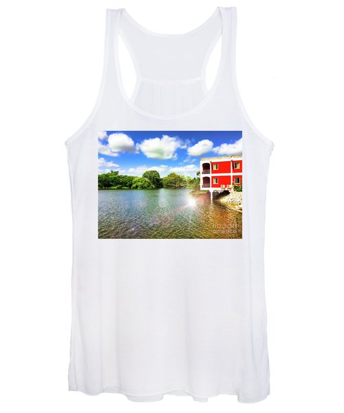Belize River House Reflection Women's Tank Top