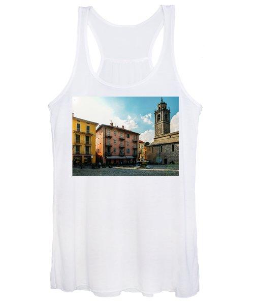 Bellagio, Lake Como, Italy. Women's Tank Top