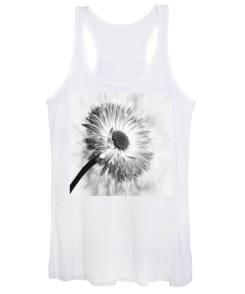 Bellis In Mono  #flower #flowers Women's Tank Top