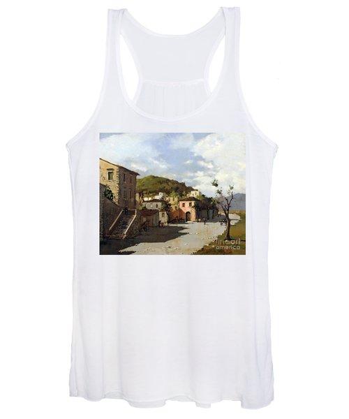 Provincia Di Benevento-italy Small Town The Road Home Women's Tank Top