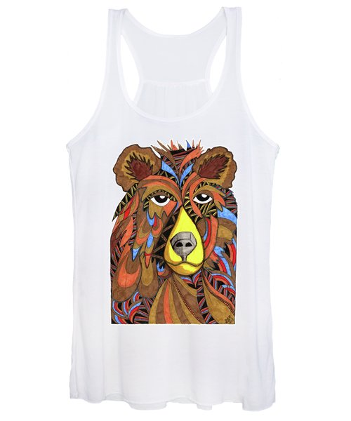Benjamin Bear Women's Tank Top