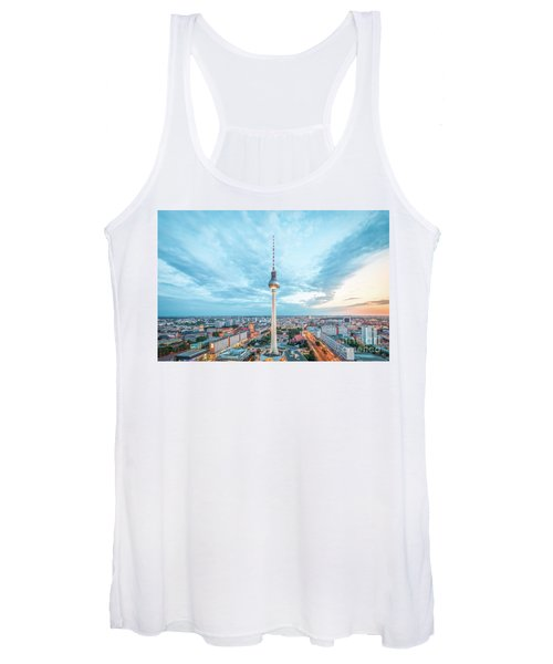 Berlin Twilight Panorama Women's Tank Top