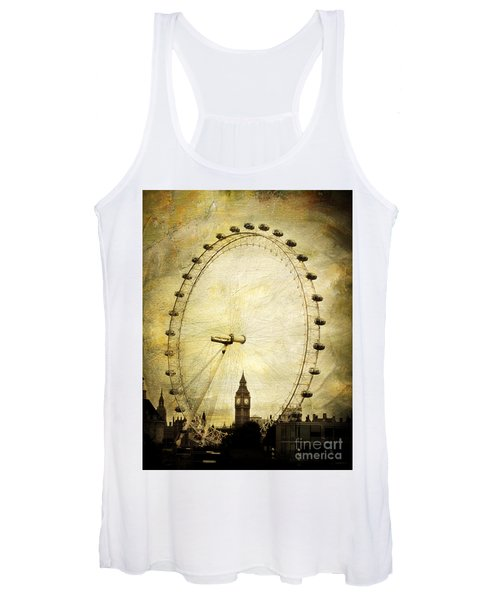 Big Ben In The London Eye Women's Tank Top
