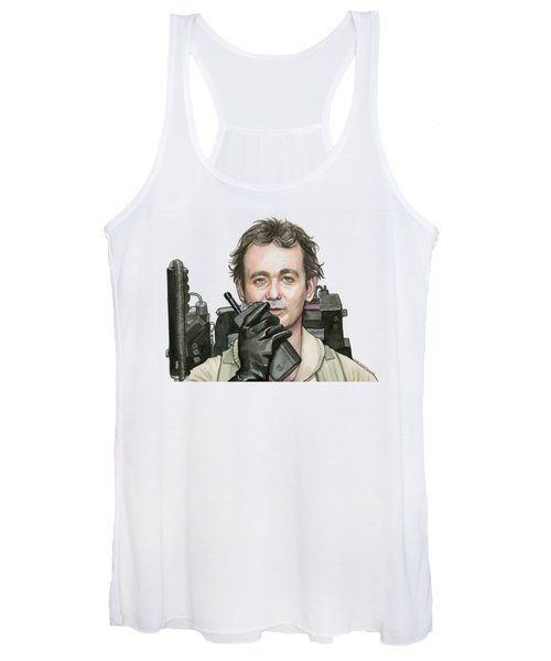 Bill Murray Ghostbusters Peter Venkman Women's Tank Top