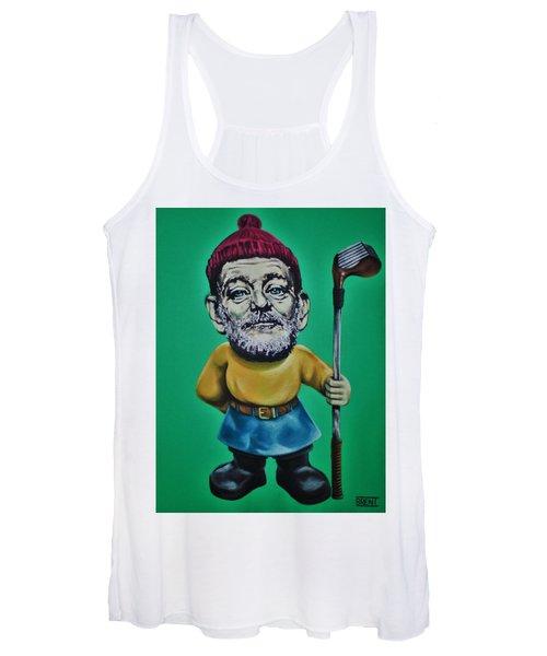Bill Murray Golf Gnome Women's Tank Top