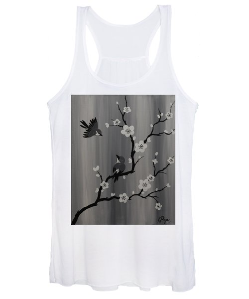 Birds And Blossoms Women's Tank Top