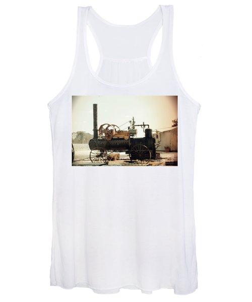 Black And Glorious Steam Machine Women's Tank Top