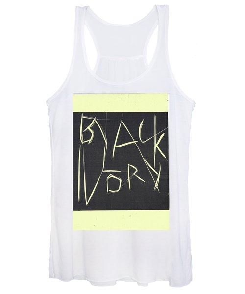 Black Ivory Title Page Women's Tank Top