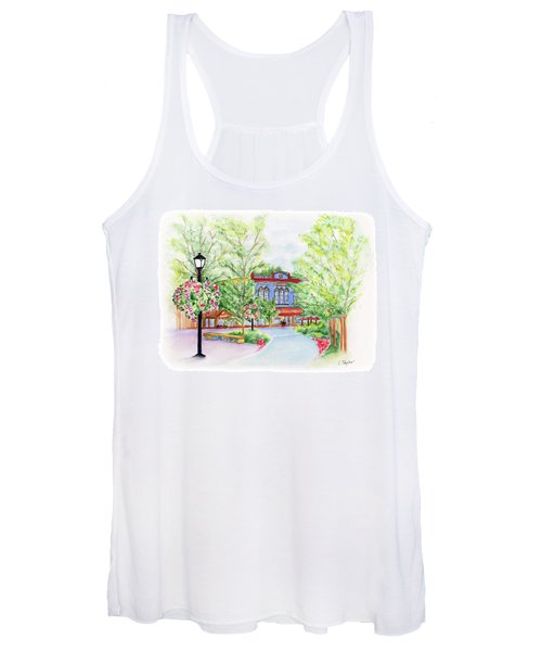 Black Sheep On The Plaza Women's Tank Top