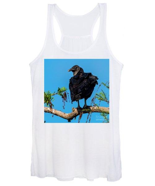 Black Vulture Women's Tank Top